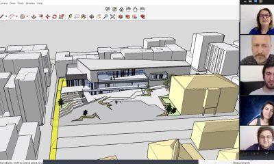 OMÜ Mimarlık Bölümünün Yaşam Boyu Eğitim Merkezi Projesi Çevrim İçi Ortamda devam ediyor
