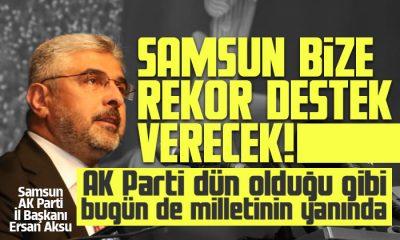 Aksu: AK Parti dün olduğu gibi bugün de milletinin yanında