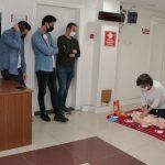 Samsun Gençlik ve Spor İl Müdürlüğü personeline ilk yardım eğitimi