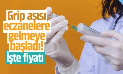Grip aşısı eczanelere gelmeye başladı! İşte fiyatı