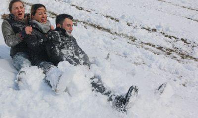 Ladik ve Ayvacık'a kar tatili