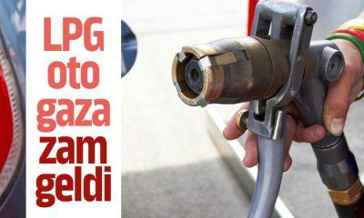 LPG oto gaza 15 kuruş zam geldi‼️
