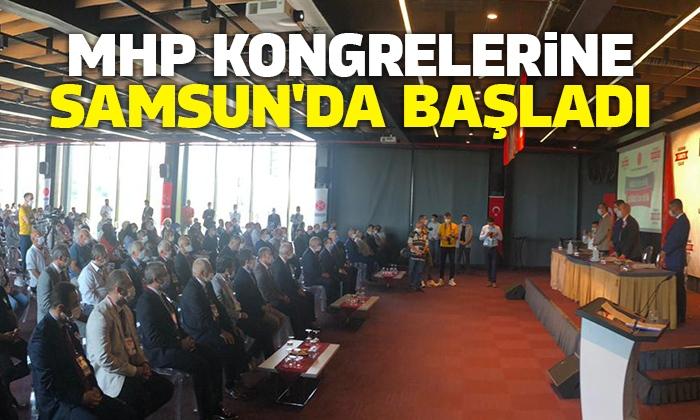 MHP Kongrelerine Samsun'da başladı
