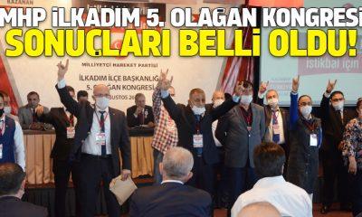 Milliyetçi Hareket Partisi İlkadım 5. Olağan Kongresi sonuçları belli oldu