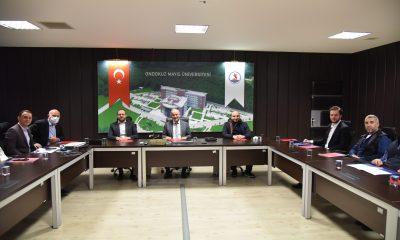 MÜSİAD Başkanı Şengül'den Rektör Ünal'a Ziyaret
