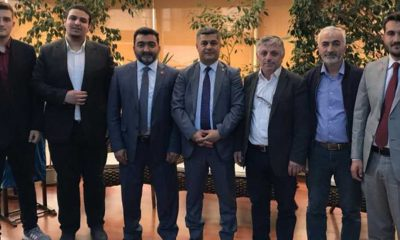 Mustafa Öcal Bafra TSO'yu ziyaret etti