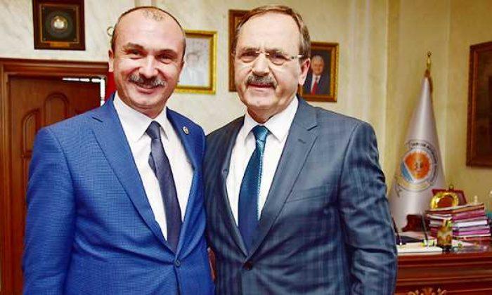 Milletvekili Kırcalı'dan Başkan Şahin'e hayırlı olsun ziyareti