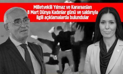 Milletvekili Yılmaz ve Kararaaslan kadına şiddet açıklamalarında bulundular