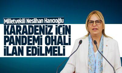 CHP'li Hancıoğlu: 'Karadeniz için pandemi OHAL'i ilan edilmeli'