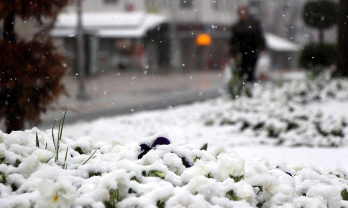 Samsun'a kar uyarısı