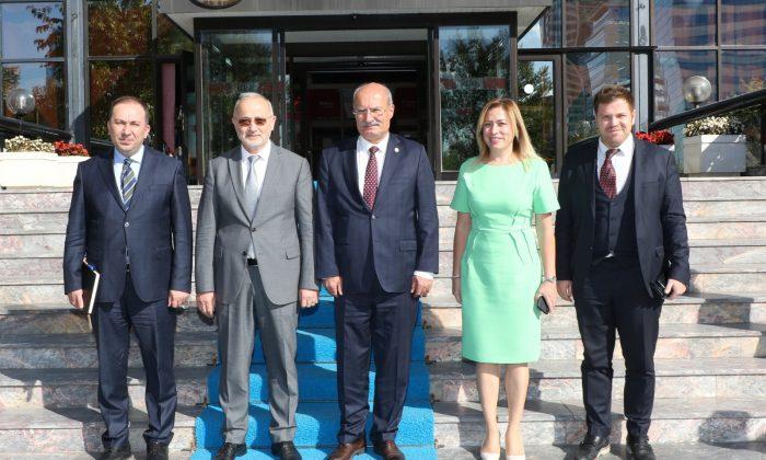 Rektör Ünal, ATO Başkanı Baran'ı Ziyaret Etti