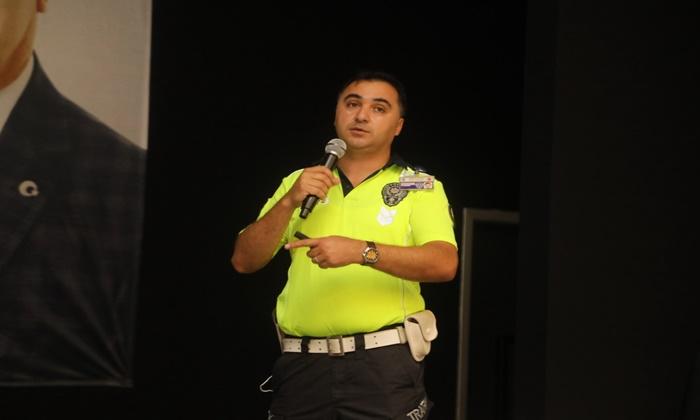 İlkadım'da Sürücülere Yönelik Güvenli Sürüş Eğitimi Verildi