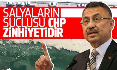Fuat Oktay: Müsilajın nedeni CHP zihniyetidir