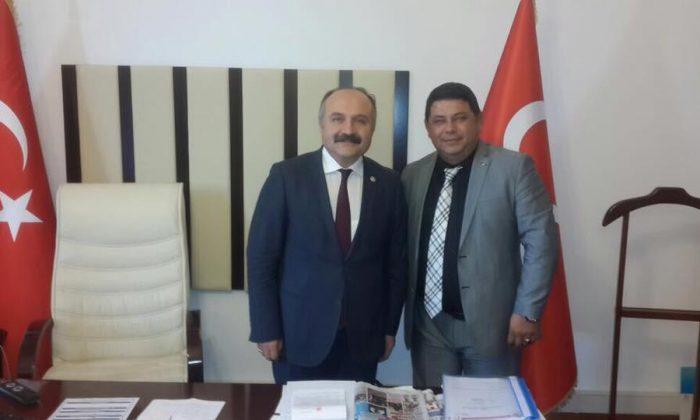SAMDEF'den Erhan Usta'ya destek
