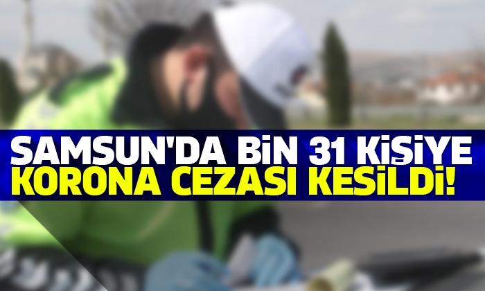 Covid-19 denetimleri kapsamında 1.031 kişiye idari para cezası uygulandı