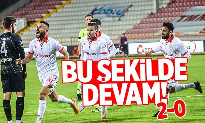 Samsunspor Boluspor maç sonucu:2-0
