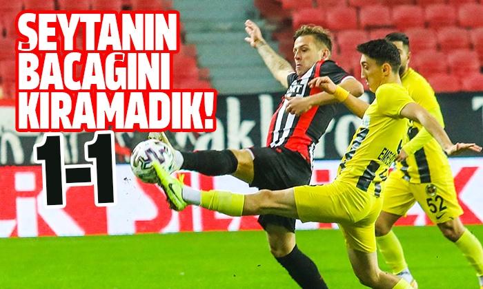 Samsunspor Menemenspor maç sonucu: 1-1