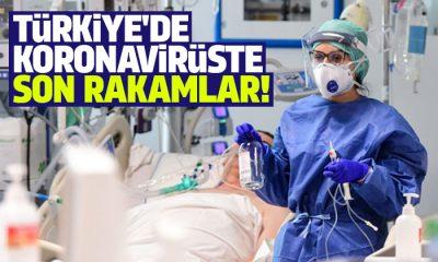 Türkiye'de günlük koronavirüs tablosu