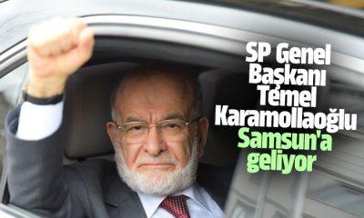 SP Genel Başkanı Temel Karamollaoğlu Samsun'a geliyor