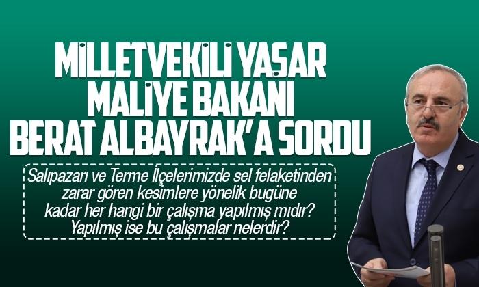 Milletvekili Yaşar Salıpazarı ve Termeli vatandaşların ertelenmeyen kredi borçlarını sordu