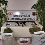Samsun'da Esrar Maddesi ve Silah Ele Geçirildi: 3 Gözaltı
