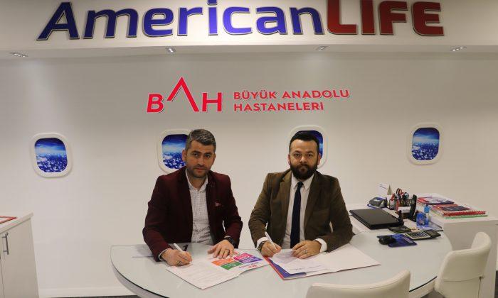 Samsun Amerikan Life Dil Okulları'nında sağlığı Büyük Anadolu Hastaneleri'ne emanet