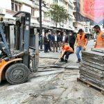 Samsun Büyükşehir Belediyesi çark etti! Sökülen taşlar başka alanda kullanılacak