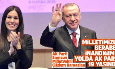 Karaaslan: Milletimizle beraber inandığımız yolda AK Parti 19 yaşında