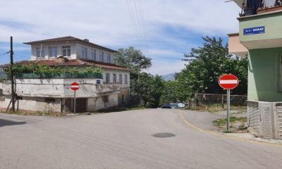 Samsun'da Araç Girişine Kapalı Yol Komediye Döndü!