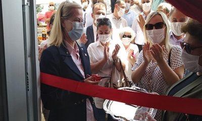 Samsun'da Cumhuriyet Halk Partisi ilk Hayır Çarşısını açtı