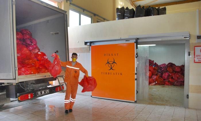 Samsun'da Koronavirüs Atıkları Toprağa Gömülüyor!