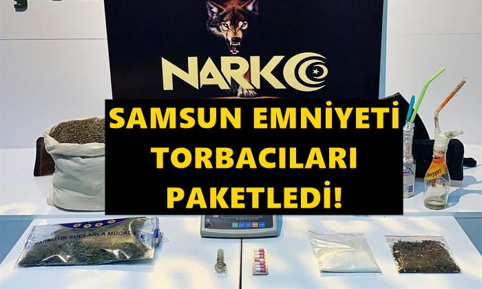 Samsun'da Torbacı Operasyonu Çok Sayıda Gözaltı Var!