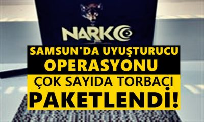 Samsun'da Uyuşturucu Operasyonu! Torbacılar Yakalandı