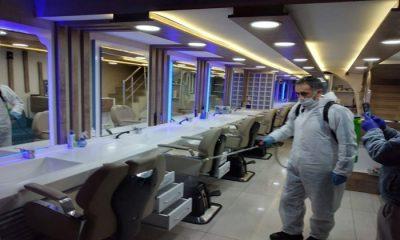 Samsun'da berber ve kuaförler müşterilerinin zorunlu kayıtlarını tutacaklar!