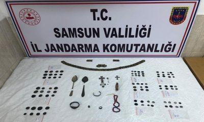 Samsun'da Çok Sayıda Tarihi Eser Ele Geçirildi!