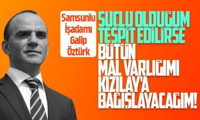 Galip Öztürk: Kaçak Değilim Mağdur Edildim!