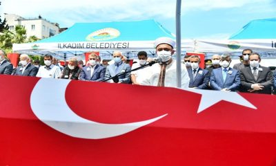 Samsunlu Piyade Uzman Onbaşı Ercan Zengin Son Yolculuğuna Uğurlandı