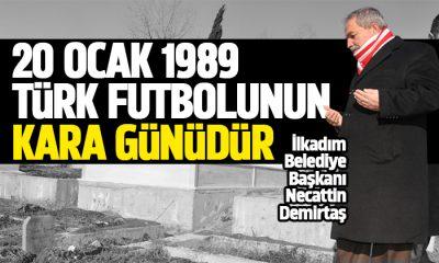 Başkan Demirtaş hayatını kaybeden Samsunspor futbolcularını andı