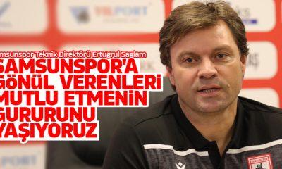 Sağlam: Samsunspor'a gönül verenleri mutlu etmenin gururunu yaşıyoruz
