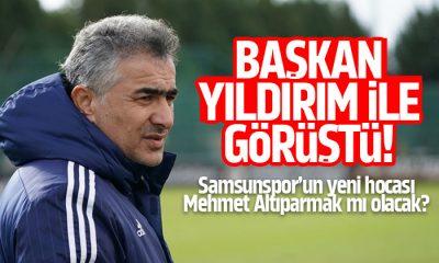 Samsunspor'un yeni hocası Mehmet Altıparmak mı olacak?