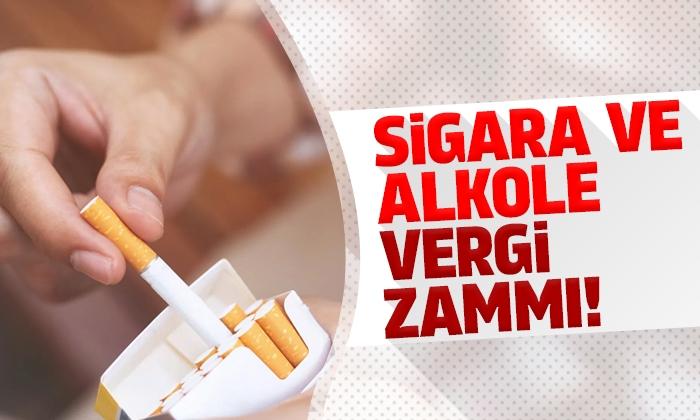 Sigara ve alkole vergi zammı! İşte yeni fiyatlar