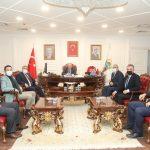 Türk Yerel Hizmet Sen Genel Başkanı Yorulmaz Demirtaş'ı ziyaret etti