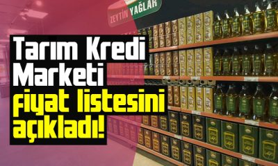 Tarım Kredi Marketi fiyat listesini açıkladı!