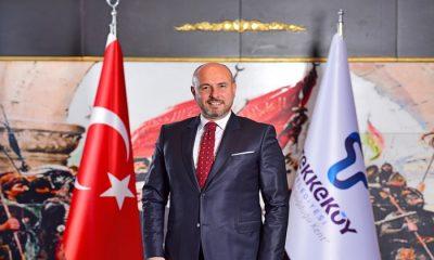Tekkeköy Belediye Başkanı Hasan Togar, Samsunspor'un 56. yıl dönümünü kutladı