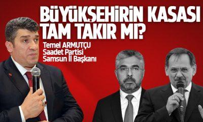 Armutçu: Büyükşehir'in kasası tam takır mı?