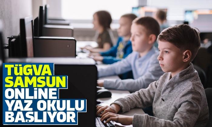 TÜGVA Samsun Online Yaz Okulu başlıyor