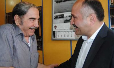 Erhan Usta'dan şoför esnafına ziyaret
