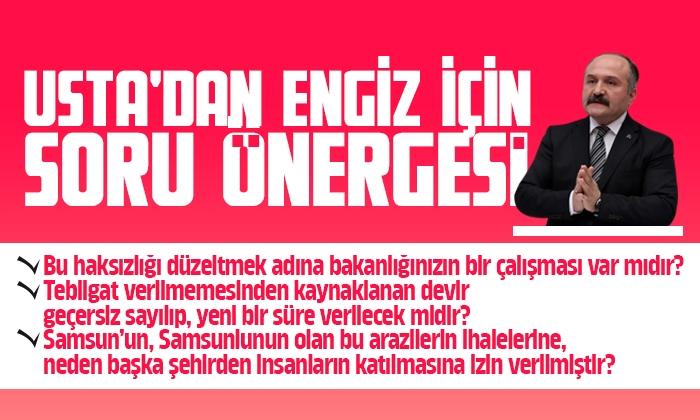 Milletvekili Usta Engiz'i sordu