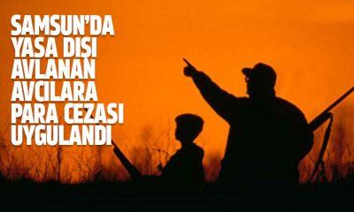 Samsun'da Kaçak Avcılara Ceza Yağdı