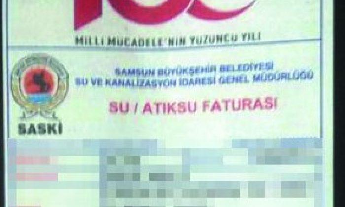 Demir 'Logosu Yok' Dedi Faturalarda Logo Var